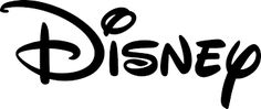 Disney Logo - easily recognizable font and family-oriented. that text came with the logo. Fun little curls on some of the letters. Was Walt Disney and the text has never changed but the iconic castle (almost always involving a witch, wizard or Queen) and shooting star have had variations over the years to reflect the type of movie that followed.