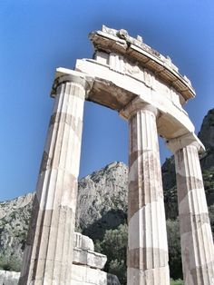 Delphi Archaeological Museum, Phocis, Greece — by Sharrie Shaw. The archaeological site of Delfi is a world unesco heritage site where the oracle of Apollo spoke. Website:...
