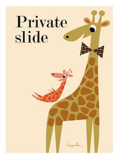 I'm a Sweden- based illustrator working with all type of illustration. Giraffe Illustration, Cute Illustration, Giraffe Art, Kids Prints, Art Wall Kids, Character Design, Clip Art, Cartoons, Characters