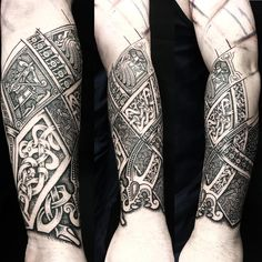 Pin by Gerald on Tattoo Viking und Nordic Scottish Tattoos, Irish Tattoos, Celtic Tattoos, Viking Tattoos, Shoulder Tattoos For Women, Sleeve Tattoos For Women, Tattoo Sleeve Designs, Tattoos For Guys, Rune Tattoo
