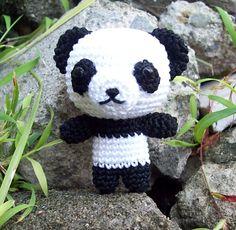 Ravelry: Panda Bear free crochet pattern by Abbygurumi