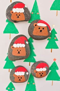 Let kids paint these to spread kindness over the holiday season. Diy Crafts For Kids Easy, Christmas Crafts For Kids To Make, Christmas Activities For Kids, Craft Activities, Preschool Crafts, Christmas Holidays, Kid Crafts, Christmas Ideas, Kids Holidays