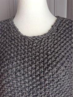 """Lises hjertgleder: """"Michael Kors"""" genser i perlestrikk . Crochet Top, Michael Kors, Knitting, Craft Ideas, Women, Fashion, Moda, Tricot, Women's"""