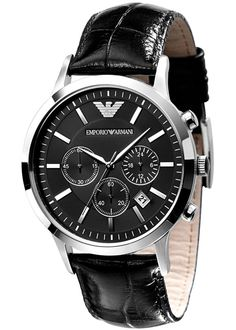 Emporio Armani Mens Watch AR2447 Classic Chronograph