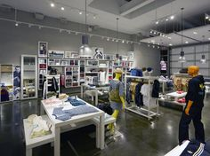 Adidas Original's Atelier by Sid Lee Architecture & Aedifica, New York