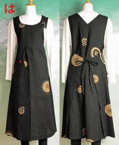 japanese apron pattern - Google Search