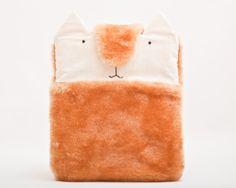 Housse pour #iPad,  #chat, orange  de JuliaWine sur DaWanda.com