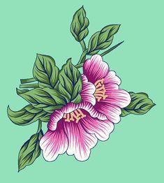 Hd Flowers, Textiles, Digital, Plants, Animals, Art, Art Background, Animales, Animaux