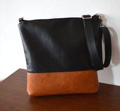 Crossbody bag Everyday purse Color-block Shoulder Bag by reabags