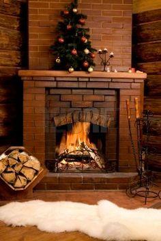 M s de 1000 ideas sobre chimeneas de ladrillo en pinterest - Decorar chimeneas rusticas ...