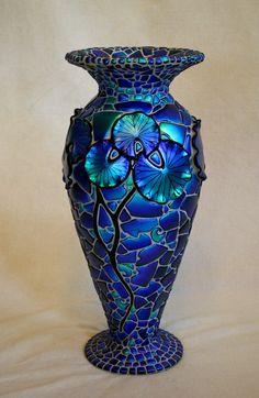 *LILY ~ dichroic glass, Laurel Yourkowski