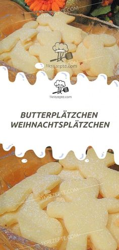 BUTTERPLÄTZCHEN – WEIHNACHTSPLÄTZCHEN - 1k Rezepte Butter Cookies Christmas, Christmas Biscuits, Holiday Cookies, Berry Smoothie Recipe, Easy Smoothie Recipes, Coconut Milk Smoothie, Homemade Frappuccino, Grilled Fruit, Cookout Food