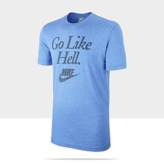 "Nike Flocked ""Go Like Hell"" Men's T-Shirt"