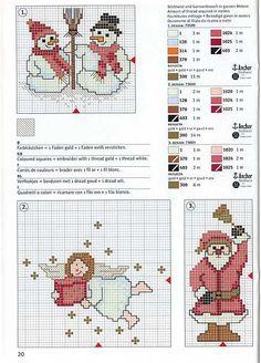 Cross Stitch: Snowman