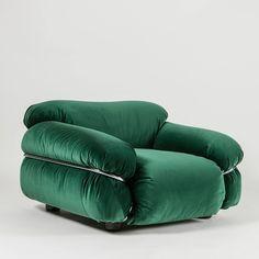 """""""Sesann"""" Armchair by Gianfranco Frattini for Cassina"""