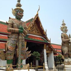 The Grand Palace And The Emerald Buddha Temple, Bangkok.