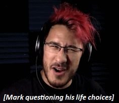 Also me everyday I wake up.🌼💙🌹// I don't question anything, I'm too fucking fabulous Pewdiepie, Markiplier Memes, Mark And Amy, Jack And Mark, The Blue Boy, Darkiplier, Youtube Gamer, Septiplier, My Escape