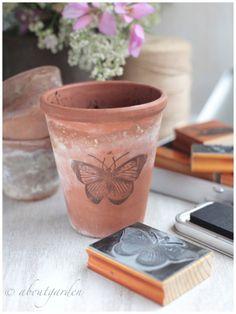 pot butterfly