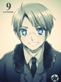 Hetalia (ヘタリア) - America/The United States (アメリカ) - Hetalia Birthstones!--(Grace Crook- YES! Sapphire is my birthstone and i love America) Alfred Jones, Hetalia America, Hetalia Fanart, Hetalia Axis Powers, Usuk, America And Canada, Another Anime, Birthstones, Anime Art
