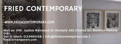 Fried Contemporary is a fine art gallery showcasing the best contemporary artwork in Pretoria #pretoria #art #gallery #fried_contemporary
