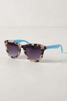 Aqua Tort Sunglasses WANT LOVE