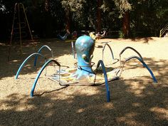 When playgrounds were awesome! Vintage pic of Happy Hollow, this was replaced :(