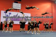 Cheerleading Confessions, I miss this! Cheer Coaches, Cheer Stunts, Cheer Dance, Cheer Qoutes, Cheerleading Quotes, All Star Cheer, Cheer Mom, Cheer Funny, Cheer Pictures