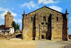 Freixo de Espada à Cinta: beautiful Manueline mother church portal and the octagonal tower