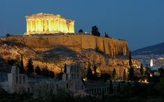 Parthenon  Is one of the most famous buildings in the world. Construction started in 447 B.C. and finished in 432 B.C.