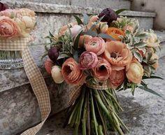 mazzo di fiori romatico