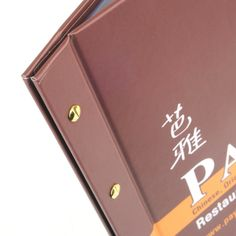 Printed Menu Covers - The Smart Marketing Group - Hospitality. Thai Cuisine Menu covers. Thai Restaurant themed menu presentation products.