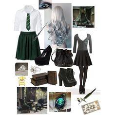 Slytherin uniform&accessories