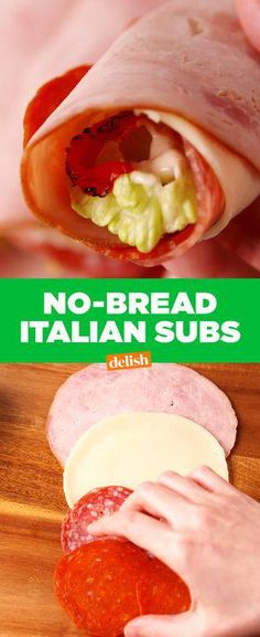 These low-carb Italian Subs prove that no bread = no problem. Get the recipe from Delish.com.