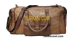 Travel bag in leather 100% handmade - http://oleantravel.com/travel-bag-in-leather-100-handmade