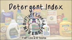 Wondering which detergent to use for your cloth diapers and which detergent is safe for your baby? Have you heard about cloth diaper safe detergents? We're here to help! At Fluff Love and CD Scienc...