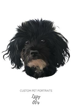 """Custom Dog Portrait 