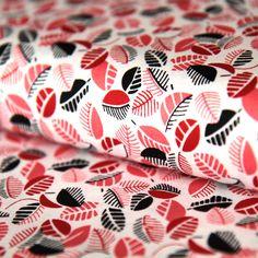 Bavlněná látka Lístečky červeno-černé Mimosa Abstract, Artwork, Scrappy Quilts, Summary, Work Of Art, Auguste Rodin Artwork, Artworks, Illustrators