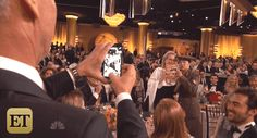Benedict Cumberbatch Photobombed Meryl Streep at the Golden Globes | Vanity Fair