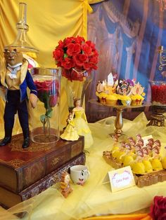 Beauty and the Beast Birthday Party Ideas | Photo 14 of 60 | Catch My Party