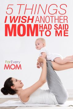 LOVE this, so, so, so true! If you see a young mama with her hands full, SAY THESE THINGS!