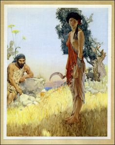 "William Russell Flint, from ""The Idyls of Theocritus"""