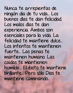 Spanish Inspirational Quotes, Spanish Quotes, Words Quotes, Me Quotes, Funny Quotes, Message To My Son, Reflection Quotes, Motivational Phrases, Quotes About God