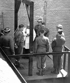 #1946 – Nuremberg Trials: Execution of the convicted #Nazi leaders of the Main Trial. | Axis History Forum • #Dachau Trials & Landsberg Executions