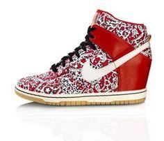 Dunk ..wedge sneakers