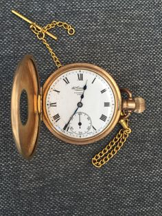 'The Consol' Gold Pocket Watch Gold Pocket Watch, Buy And Sell, Watches, Accessories, Wristwatches, Clocks, Jewelry Accessories