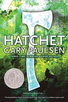 Hatchet by Gary Paulsen - Simon & Schuster Books for Young Readers Best Books For Men, Books For Boys, Great Books, Childrens Books, Teen Books, Amazing Books, Book Trailers, Hatchet Book, Hatchet Gary Paulsen