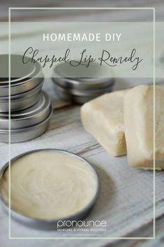3 Ingredient DIY Chapped Lip Remedy • Are your lips in pain from being chapped or sun burnt? Here's a SUPER SIMPLE, 3 ingredient DIY chapped lip remedy made with natural ingredients.