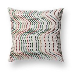 Color thin wave oi20331 Decor Cushion Covers Square 18x18 InchBlend Linen isaacob - Brought to you by Avarsha.com