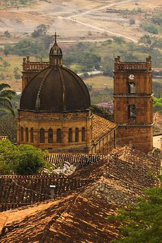 In Barichara, Colombia, calm and silence combine perfectly with the architectural beauty, to make this town a must for traveling. San Gil, Immaculate Conception, Beautiful Streets, Natural Resources, Nice View, Cemetery, Taj Mahal, Cathedral, Tours