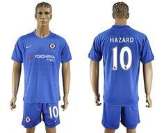 Chelsea  10 HAZARD  Home Soccer Club Jersey